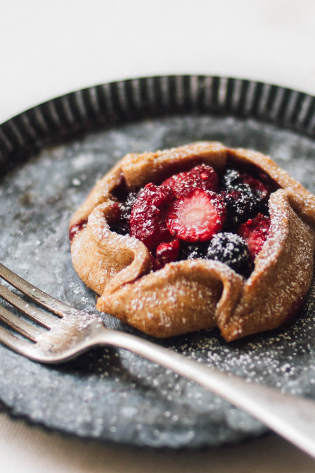 Berry Galettes + Easy Vegan Pastry