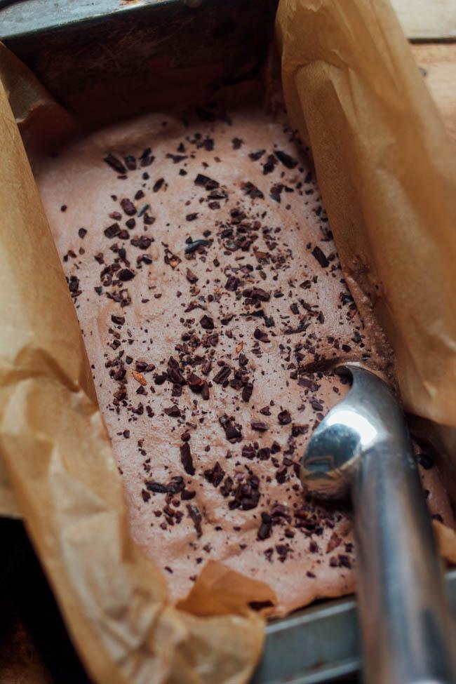 Chocolate Salted Ice Cream