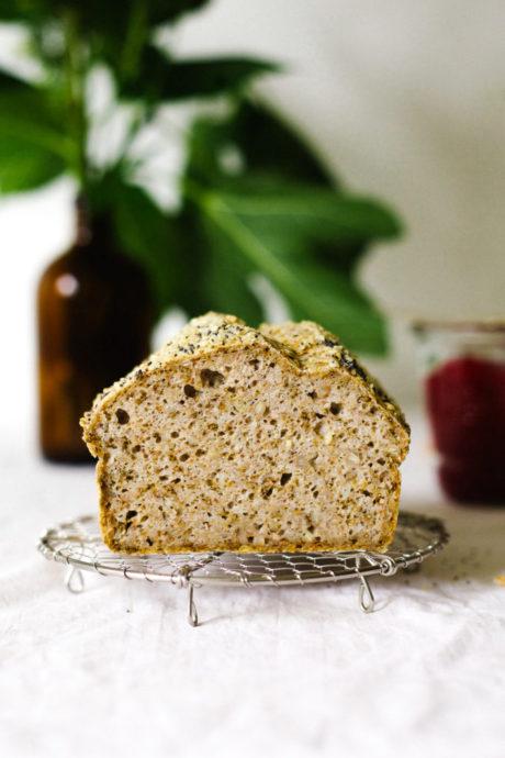 The Unbelievable Buckwheat Bread (GRAIN-FREE)