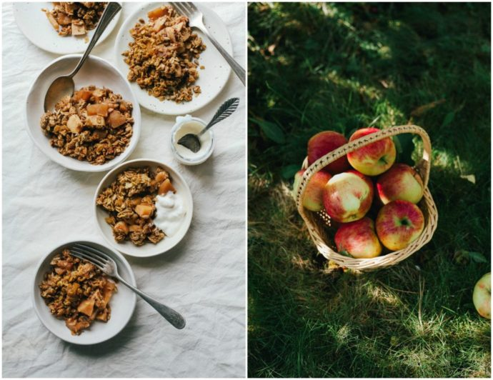 TAHINI APPLE CRUMBLE 6
