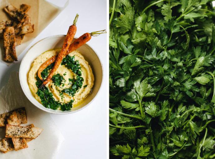 Carrot Cumin Hummus - Hummus Mania