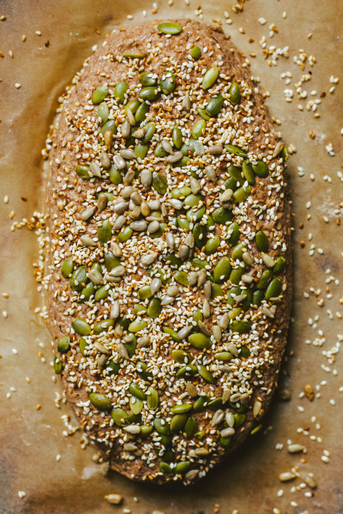 SPROUTED WHEAT MANNA BREAD