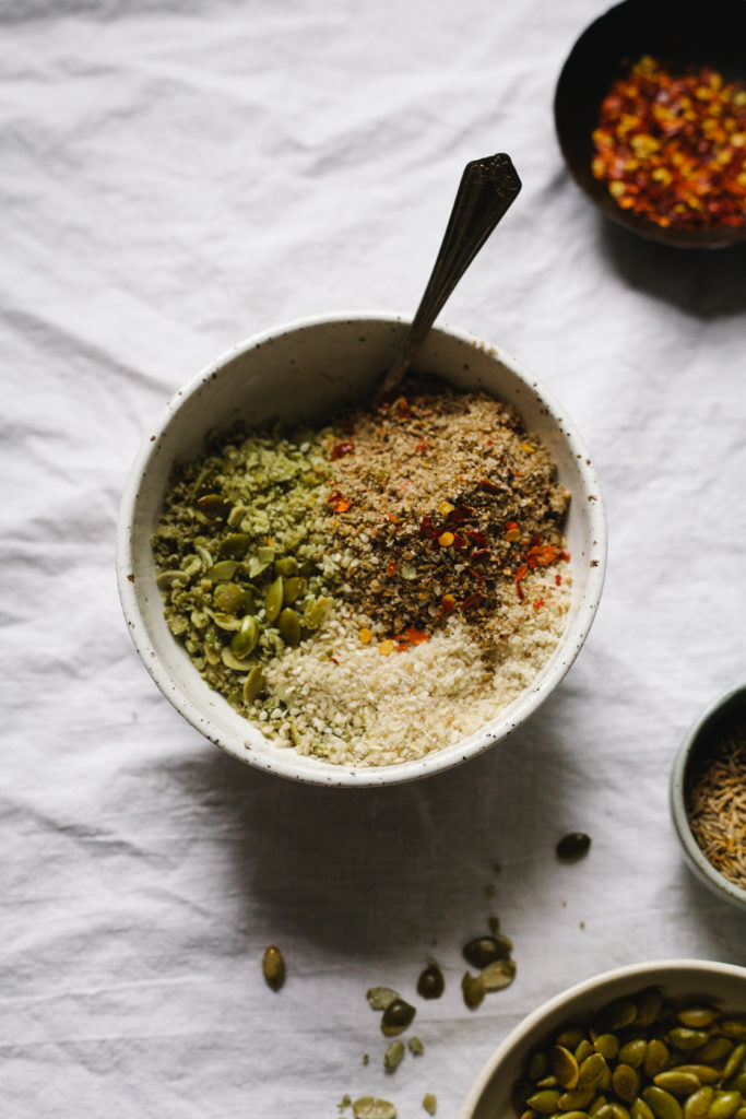 QUINOA BOWL WITH CILANTRO PESTO + KITCHEN HACKS 3