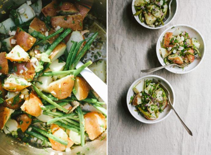 Warm Poato Salad