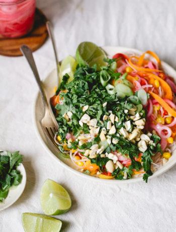 ribbon carrot salad
