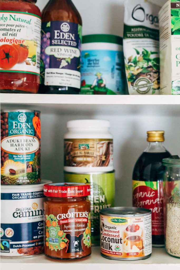 What to keep in a pantry