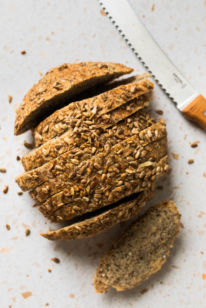 How to make chia protein bread