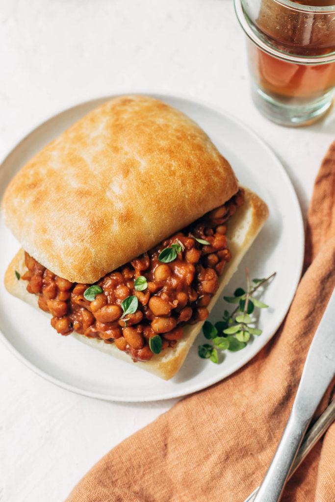 baked maple beans